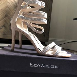 Strappy Enzo Angiolini heels